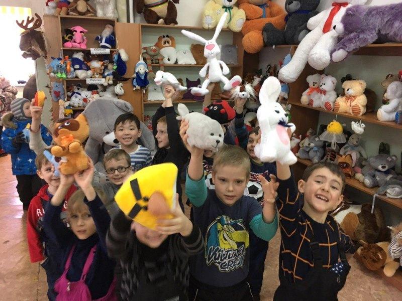 Самая мягкая экскурсия - экскурсия на Фабрику мягкой игрушки!