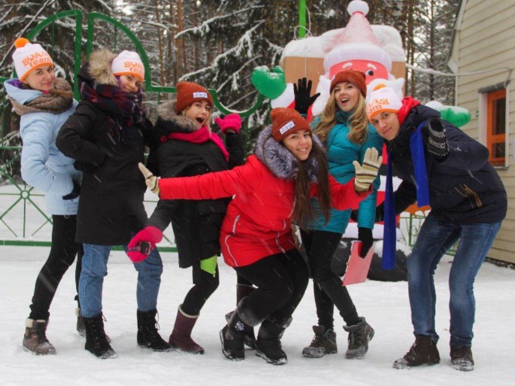 Новый год в детском лагере (7-11 классы)
